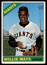 1966 Topps #1 Willie Mays VG  ID: 89281