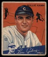 1934 Goudey #14 Willie Kamm EX++ Excellent++