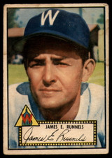 1952 Topps #2 Pete Runnels VG Red Back RC Rookie ID: 78372