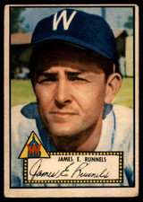 1952 Topps #2 Pete Runnels G/VG RC Rookie