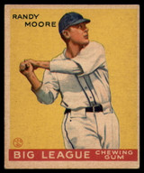 1934 Goudey V354 World Wide Gum #26 Randy Moore VG/EX Very Good/Excellent