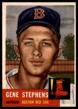 1953 Topps #248 Gene Stephens Near Mint Boston Red Sox