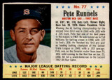 1963 Post Cereal #77 Pete Runnels Excellent+  ID: 136942