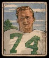 1950 Bowman #61 Walter Barnes Poor