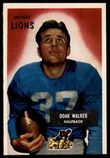 1955 Bowman #1 Doak Walker EX++ ID: 70285