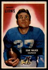 1955 Bowman #1 Doak Walker EX