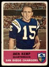 1962 Fleer #79 Jack Kemp VG