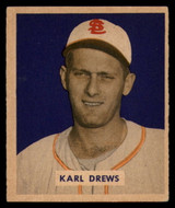1949 Bowman #188 Karl Drews EX++ RC Rookie