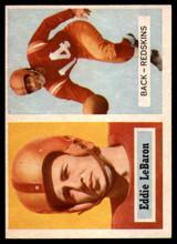1957 Topps #1 Eddie LeBaron NM+ Washington NFL Football