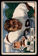 1951 Bowman #1 Weldon Humble VG Very Good RC Rookie
