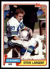 1981 Topps #271 Steve Largent NM-Mint  ID: 187421