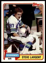 1981 Topps #271 Steve Largent NM-Mint  ID: 187422
