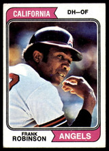 1974 Topps #55 Frank Robinson Very Good  ID: 185902