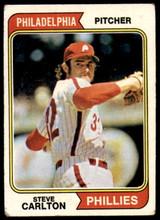 1974 Topps #95 Steve Carlton Very Good  ID: 185905