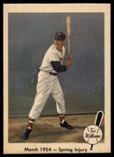 1959 Fleer Ted Williams #50 March 1954 - Spring Injury NM+++ ID: 52983
