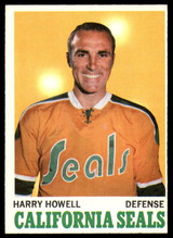 1970-71 Topps #72 Harry Howell Near Mint  ID: 152385