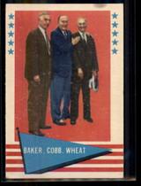1961 Fleer #1 Frank Baker/Ty Cobb/Zack Wheat VG/EX ID: 50903