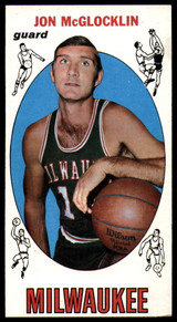 1969-70 Topps #14 Jon McGlocklin EX++ RC Rookie ID: 80705