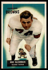 1955 Bowman #2 Mike McCormack EX++ RC Rookie