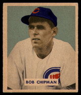 1949 Bowman #184 Bob Chipman VG RC Rookie