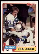 1981 Topps #271 Steve Largent NM-Mint  ID: 151422