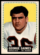 1964 Topps #36 George Saimes EX++ Excellent++ RC Rookie