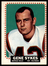 1964 Topps #40 Gene Sykes Excellent+