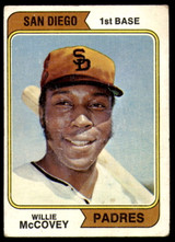 1974 Topps #250 Willie McCovey Very Good  ID: 188121