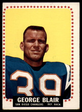 1964 Topps #156 George Blair EX++ Excellent++
