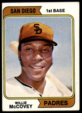 1974 Topps #250 Willie McCovey Very Good  ID: 188125
