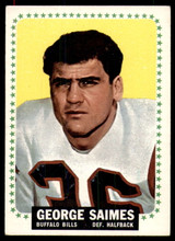 1964 Topps #36 George Saimes Excellent+ RC Rookie ID: 187619