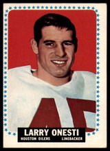1964 Topps #81 Larry Onesti EX++ Excellent++ RC Rookie