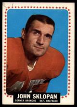 1964 Topps #60 John Sklopan Excellent+