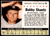 1961 Post Cereal #15 Bobby Shantz Excellent+  ID: 183282