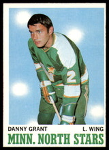 1970-71 Topps #47 Danny Grant Ex-Mint