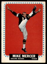 1964 Topps #145 Mike Mercer Excellent