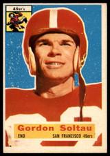 1956 Topps #2 Gordon Soltau VG Very Good  ID: 116844