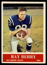 1964 Philadelphia #1 Raymond Berry EX/NM  ID: 90946