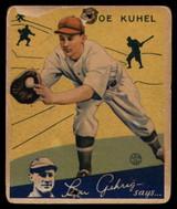 1934 Goudey #16 Joe Kuhel P Poor