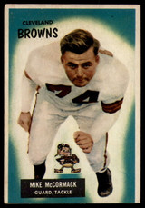 1955 Bowman #2 Mike McCormack EX RC Rookie