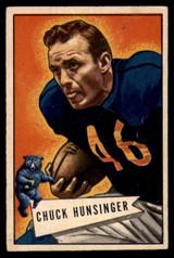 1952 Bowman Small #7 Chuck Hunsinger EX++ Excellent++
