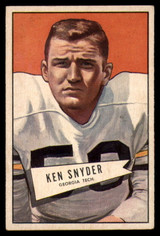 1952 Bowman Small #22 Ken Snyder EX++ Excellent++