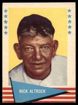 1961 Fleer #3 Nick Altrock Excellent+  ID: 175778