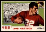 1955 Topps All American #5 Bob Grayson EX/NM  ID: 90359