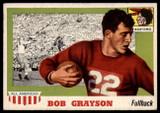 1955 Topps All American #5 Bob Grayson EX/NM  ID: 90363
