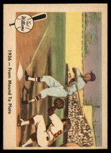 1959 Fleer Ted Williams #7 1936 - From Mound To Plate NM