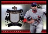 2007 UD Game Materials #UD-AP Albert Pujols NM-Mint GU Cardinals