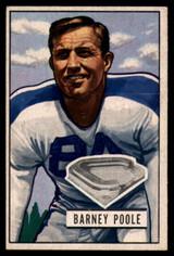 1951 Bowman #9 Barney Poole EX++ Excellent++