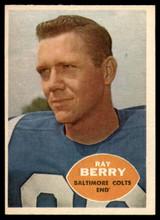 1960 Topps #4 Raymond Berry NM