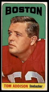 1965 Topps #1 Tommy Addison VG SP